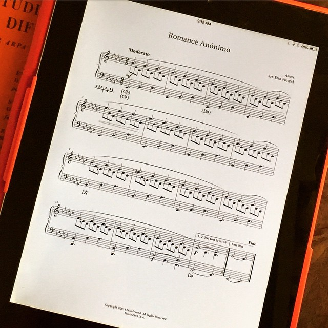 Busy today uploading new pieces to #harpcolumnmusic... Another good one…