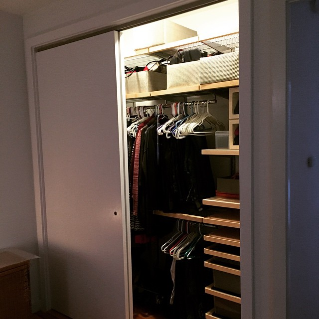 The closet renovation is oh so close to being finished!…