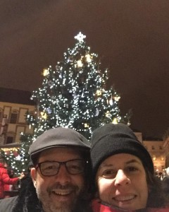 Obligatory Christmas Market opening night selfie Yes there is ahellip