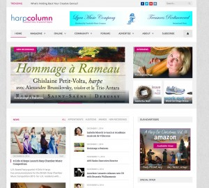 www.harpcolumn.com home page
