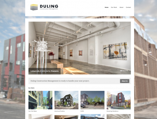 Duling Construction Website