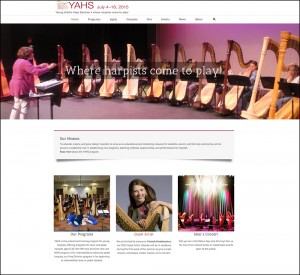 www.harpseminar.com home page