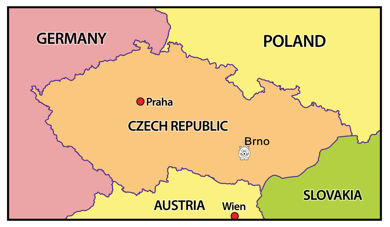 Where in the World is Brno?